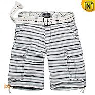 Houston Mens Printed Cargo Shorts CW144004