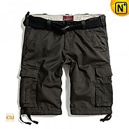 London Grey Outdoor Work Shorts CW140177