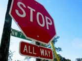 Stop Sign Violation - Running Stop Signs