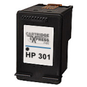HP 301 Black Ink Cartridge (CH561EE) Remanufactured 2x More Ink