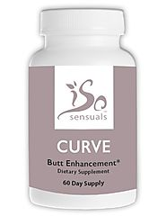 IsoSensuals CURVE | Butt Enhancement Pills (60 Capsules)