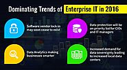 Dominating Trends of Enterprise IT in 2016 - MyTechLogy