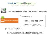 Selenium Online Training