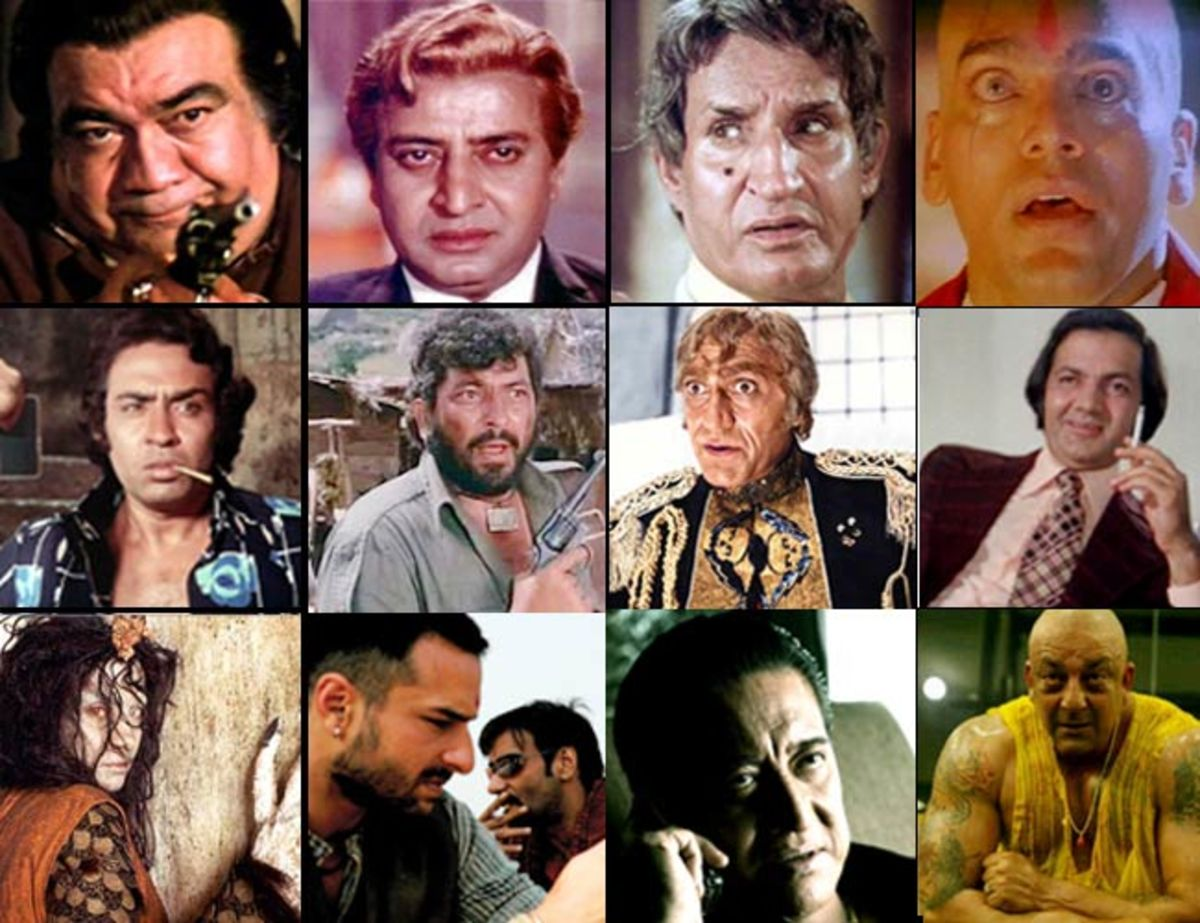 Headline for Top 10 villains in Indian Cinema