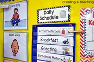 creating & teaching: Daily Schedule... {This is How we Do It}