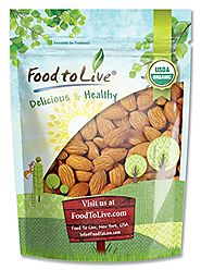 Best Buy - Food To Live ® Organic Almonds
