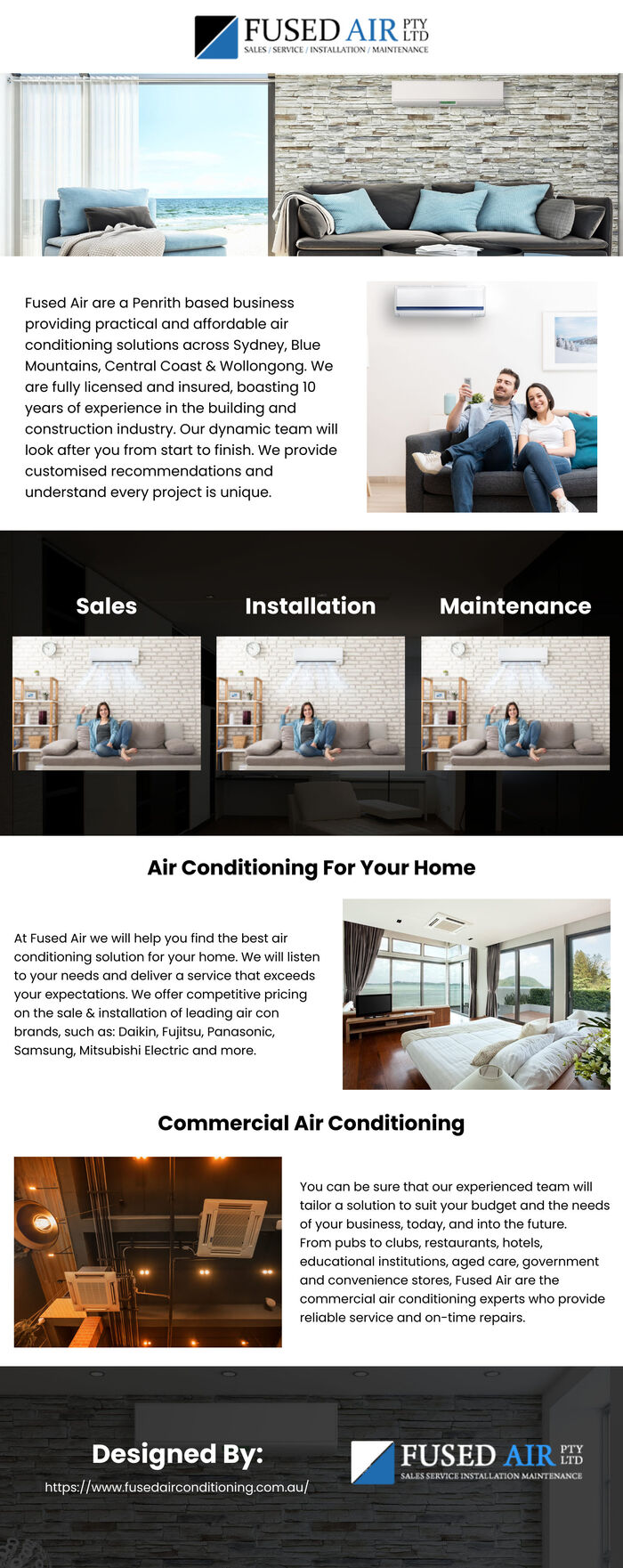 This infographic is designed by Fused Air