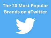 The 20 Most Popular Brands on #Twitter