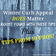 Wintertime Curb Appeal Tips For Homes All Over The Nation