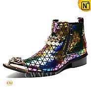 CWMALLS® New York Double Zip Dress Boots CW707219