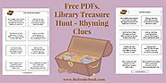 Free PDFs, Library Treasure Hunt – Rhyming Clues