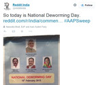 If not National Deworming, 10th Feb was definitely Delhi Deworming day