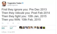 This one by Yogendra Yadav