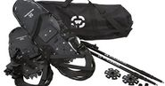 Winterial All Terrain Adult Snowshoes with Poles and Carry Bag