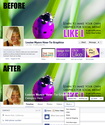 Facebook Fan Page & Cover Photo Redesign: New Template!