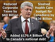 STEPHEN HARPER KNOWS HOW TO TAKE CARE OF HIS ...