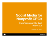 7 -Social Media for Nonprofit CEOs