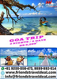 Website at http://friendstraveldeal.com/Goa.htm
