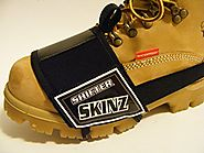 Shu-Band-It Shifter Skinz Shoe Boot Scuff Protector (Black)