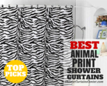 Best-Rated Animal Print Shower Curtains * Curtain It!