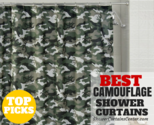 Best Camouflage Shower Curtains Available Online * Curtain It!