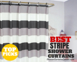 What are the Best Stripe Shower Curtains? * Curtain It!