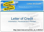 Basic Step of Process to Get Letter of Credit (LC)