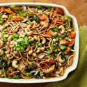Garlic Cashew Chicken Casserole