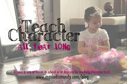 Ideas for teaching children character :Details by Blogger & Author Maria Dismondy