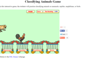 Classifying Animals Game