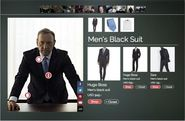 "An algorithm can help you shop the entire wardrobe from ""House of Cards"""