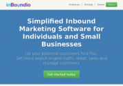 InBoundio | Simplified Inbound Marketing Software