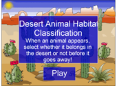 Desert Animal Habitat Classification