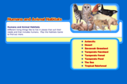 Human and Animal Habitats