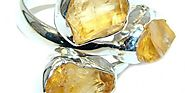Beautiful Citrine Rings Under $50