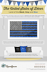 America's True Colors - United States Decor Trends | Spoonflower