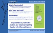 Tweettronics - Brand Tracking, Analytics, Influence