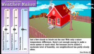 Interactive Weather Maker
