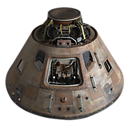 Smithsonian Releases Apollo 11 Command Module High Resolution Scans