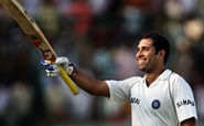 VVS Laxman is the only cricket who played 100 tests without playing a single world cup match.