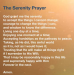 The Serenity Prayer - God Grant Me The Serenity