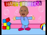 Baby Dancing - Funny Happy Birthday Video Card