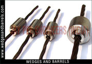 Wire bridge wedges barrels