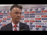 Manchester United vs Arsenal 1 : 2 - Louis van Gaal post-match interview