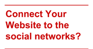 #15NTC WordPress Day: Connect Your Website to the social networks