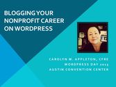 Blogging Your Nonprofit Career