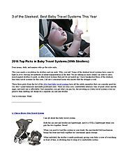 2016 Best Stroller Travel Systems - List and Reviews This Year