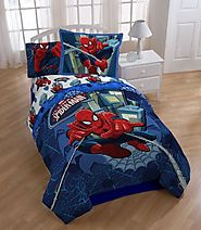 MARVEL Spider Man Comforter Set, Full