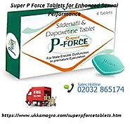 Super P Force Tablets- The Powerful Medicines for ED Treatment