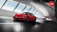 News on launch of Porsche 911 Targa 4